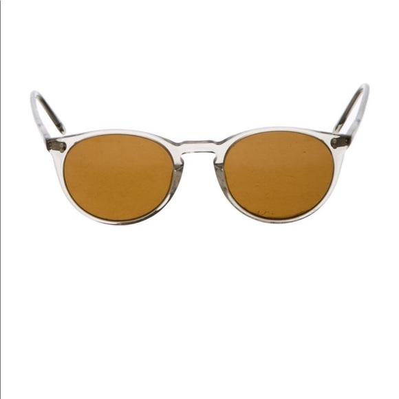Oliver People's Aviator Sunglasses